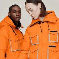 2021 2021 Men's Down Parkas Coats jackets hood Owl CONSTABLE Outdoor canada Reflective bomber coose Warm Jacket goose Black Orange gose ovo S-XXL_yh