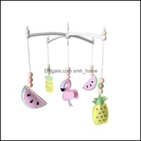 Decorative Aents Décor Home Gardendecorative Objects & Figurines Baby Mobile Crib Holder Rotate Bracket Diy Bed Bell Hanging Toys Rattle Kid