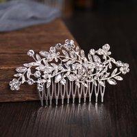 Hair Clips & Barrettes Combs Headdress Wedding Comb Tiara Bridal Fashion Accessories Girl Prom Gift
