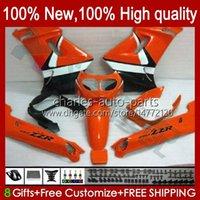 Body for Kawasaki Ninja Zzr250 90 91 91 93 94 1999 1996 1997 1998 1999 Bodywork 54HC.149 Orange Blk ZZR 250 CC ZZR-250 1990 1991 1992 1993 1994 95 96 97 98 99 OEM 페어링