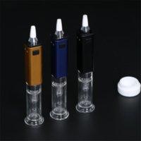 Authentique G9 Greenlightvapes GDIP DABBER portable mini DAB RIG 1000MAH Installateur de collecteur de collecteur avec tuyau d'eau barboteur en verre DHL