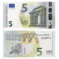 Lustige Spielzeugprop 10 50 100 Gefälschte Banknoten Kopieren Filmgeld Faux Billet Euro 20 Spielen Sammlung und Geschenke