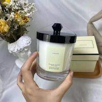 En stock Fragrance Bougie parfumée 200g pour homme et femmes givrées Cherry Clove Crazy Haute Qualité Cadeau Coffret rapide