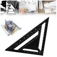 Anillo Bamitas 260x185x185mm Métrico Aluminio Triángulo Regla Triangular Negro Regla Triangular