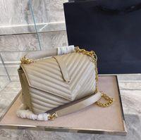 Designers luxurys clássico bolsa senhoras bolsa de ombro mulheres prata ouro hardware mensageiro bolsas bolsas de compras
