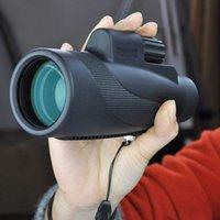 Telescope & Binoculars Professional Monocular Zoom Powerful Prism Waterproof Mobile Night Vision Military Eyepiece Hand Lens Hunting Optics