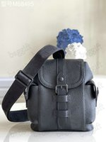 Christopher Xs Mini Mens Mulheres Designer único Saco De Ombro Bolsa Eclipse Reversa Trend Pasta de Tendência Bolsas de Travel Bolsa de Lona Totes de Couro M58495