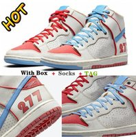 SB Ishod Wair x Magnus Walker Pro 277 Dunk Running Shoes High Trainers Skate Low White Blue Red DH7683-100 Sail Urban Outlaw Casual Sneakers 36-45