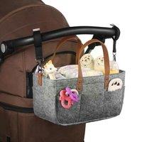 Storage Bags Quality Car Caddy Organiser Baby Diaper Nappy Grey Stroller Bin For Basket Organizer Com B6W5