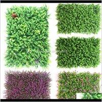 Decorazioni da giardino 4060 cm Prato Prato Simulazione Fiore Plastica Eucalipto Erba Artificiale Tappetino per interni Pianta Pianta Pianta Umvoh Reh9m