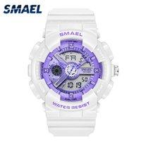 Wristwatches SMAEL Luxury Watch For Men Women Digital Watches Fashion Casual Couple Quartz Clock Military Sport Wristwatch Hombr