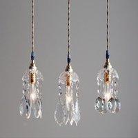Pendant Lamps Nordic Led Crystal Light Post-modern Bar Bedroom Restaurant Decorative Cosmos Drop Lights S Luminaria