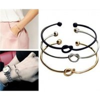 S126 minimalist style simple personalized Knot Bracelet