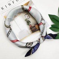 Элегантный дизайнерский шарф женские многофункциональные девушки1 шарфы шарф шелковый оголовье леди головной ковер висячий маска WMITW