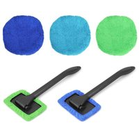 Cleaning Cloths Window Cleaner Brush Kit Car Windshield Wash Tool Inside Interior Auto Glass Wiper With Long Handle