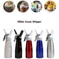 500 ملليلتر N2O موزع كريم سيت القهوة الحلوى صلصات زبدة سيت سبائك الألومنيوم كريم رغوة صانع أدوات كعكة CYZ3114