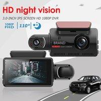 """3"""" Dual Lens Dash Cam Full HD 1080P 170° Car DVR A68 Auto Digital Video Recorder Dashcam Camera G-Sensor Night Vision DVRs"""