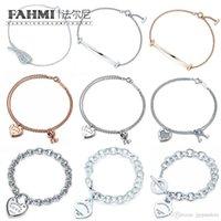 Memnon Bracelets 100% 925 Sterling Silver Original Authentic Classic Key Heart Gift Exquisite Wedding Women Bracelet Jewelry