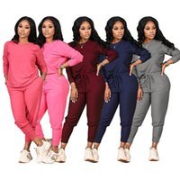 Jogging suits Women tracksuits Fall winter Clothing long sleeve outfits pullover hoodie+joggers pants two Piece set Plus size 3XL Casual black sweatsuits 5830