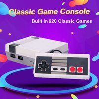 Mini Video Game Console, NES 8 Bit console, Built-in 620 Retro Games, Support Output, Children's Gift