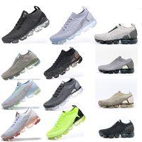 플라이 2.0 Tricot 3 스 니 커 즈 실행 신발 Chaussures 드 코스 옴므 트리플 노아 블랑 볼트 Moc Dusty 선인장 Femmes Vapessssssss 스포츠
