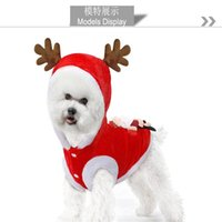Cat Costumes Pet Clothes Fall And Winter To Keep Warm Dog Elk Christmas Old Man In The Year