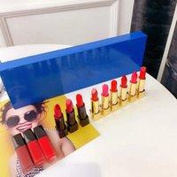 Makeup Famous Brand 12pcs Lipsticks Lip Gloss set Matte Lipstick 12color Lips Stick Cosmetics High Quality