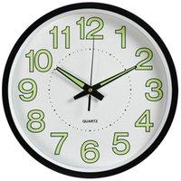 Настенные часы Timelike Luminous круговой кварцевый домашний декор спальня светящийся в темноте