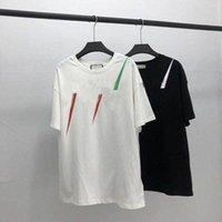20ss 남성 티셔츠 디자이너 편지 인쇄 크루 넥 캐주얼 여름 통기성 남성 여자 셔츠 솔리드 컬러 탑스 티셔츠 도매 l3my #