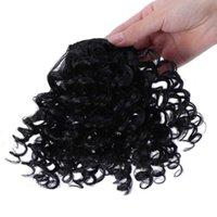 Extensão de cabelo humano puro mulheres pedaços diferentes cor franja clipe de franja em extensões