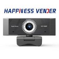 Mini Cameras HD1080P USB 2.0 Webcam Auto Focus AF Drive-free Computer Web Camera Built-in Mic Sound Absorption Microphone