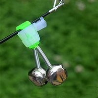 New Fishing Acessórios Sea Rod Pesca Sino Alarme Bell Plug In Luminous Stick Pequenos sinos espirais para venda 236 W2
