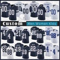 11 Micah Parsons 88 Ceeee Agnello 60th Mens Donne Bambini Personalizzati Jersey da calcio 4 Dak Prescott 21 Ezechiel Elliott 19 Amari Cooper Smith DallasMichael Gallup.Cowboys.