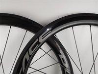Personnaliser les roues de carbone 50mm ACE Logo 700C CLINCHER TUBULTURE TUBULAIRE WANDHTH 25MM WheelSet de 2 ans Garantie