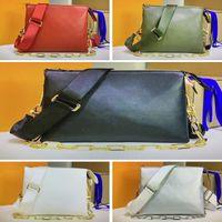 M57790 م كوسين M57783 ملليمتر الفاخرة المرأة الكتف حقيبة مصمم crossbody حقائب تنقش الجلود مخلب وسادة حقيبة يد سلسلة الرغيف الفرنسي إبطال محفظة حمل pochette