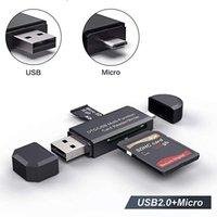 OTG Micro SD Kartenleser USB 3.0 Kartenleser 2.0 für USB Micro SD-Adapter Flash-Laufwerk Smart Speicherkartenleser Typ C Cardreader