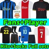 2021 2022 amsterdam maglia da calcio ajax KUDUS ANTONY BLIND PROMES TADIC NERES CRUYFF 21/22 men kids kit socks full sets jerseys football shirt uniforms