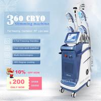 5 Griffe Cryolipolysis Abnehmen Fetting Fat Maschine Lipo Laserkavitation RF Zellverlust 360 Cryo Vakuum Butt Hubing CE genehmigt