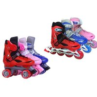 Inline DoubleLine 2 в 1 коньках Детские роликовые кроссовки открытый дети патины спортивные туфли