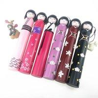 Guarda-chuvas japonês boneca quimono dobrável garrafa de vinho guarda-chuva chuva criativo uv mini para presentes de designer das mulheres