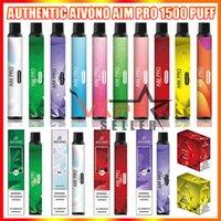 Original AIVONO AIM PRO Dispositivo de cigarrillo Vape F Pen E con batería de 1000mAh 6.5ml POD 1500 Puffs Vaporizador Kit vs Ignite