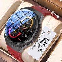 LIGE 1.28-inch Full Color Touch Screen Sport Smartwatch Men Women Fitness Tracker Waterproof Smart Watch For Huawei Xiaomi Apple