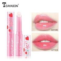 Teamason Aardbei Moisturizer Lippenstift Lippenbalsem Temperatuur Veranderende Kleur Langdurige Hydraterende Make-up