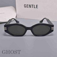 Gafas de sol de moda 2021 Gentle Chost Acetate polarizando hexagonal UV400 lentes gafas de sol para hombres con estuche