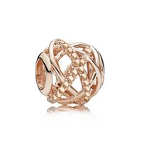 Unique Alloy Charm Bead Fashion Women Jewelry Stunning European Style Fit For Pan DIY Bracelet Necklace PANZA005-60