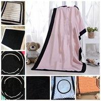 8 farben schwarz farbe handtuch decke 130 * 150 cm weiche koralle samt strand handtücher decken klimatisierung teppiche bequeme teppich wy1272