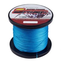 Strands 500m 6-100LB Linha de pesca trançado de alta qualidade 13 cores disponíveis Multifilamentar material de fio de Japão Trança