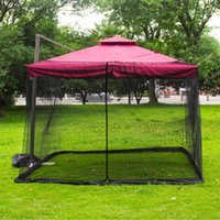 Tents And Shelters Outdoor Net Patio Umbrella Cover Netting Screen UV Resistant For Yard Camping Beach Tent Camouflage Nets
