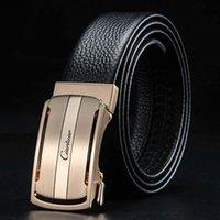 Belts Ciartuar Men Belt Genuine Leather Business Casual Designer High Quality Waist Present Gift