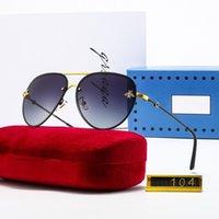 2021 الرجال النساء أزياء القيادة النظارات النظارات الكلاسيكية النحل في الهواء الطلق شاطئ الرياضة الملحقات مع صندوق